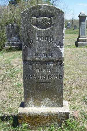 JORDAN, A O - Benton County, Arkansas | A O JORDAN - Arkansas Gravestone Photos