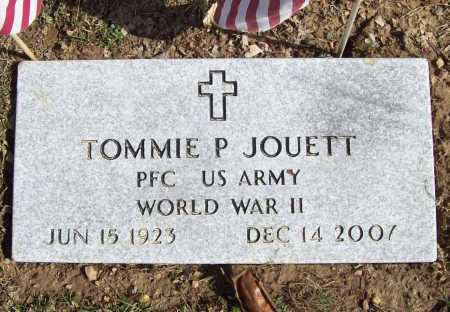 JOUETT (VETERAN WWII), TOMMIE P - Benton County, Arkansas | TOMMIE P JOUETT (VETERAN WWII) - Arkansas Gravestone Photos
