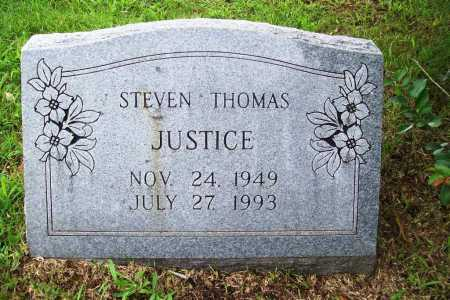 JUSTICE, STEVEN THOMAS - Benton County, Arkansas | STEVEN THOMAS JUSTICE - Arkansas Gravestone Photos