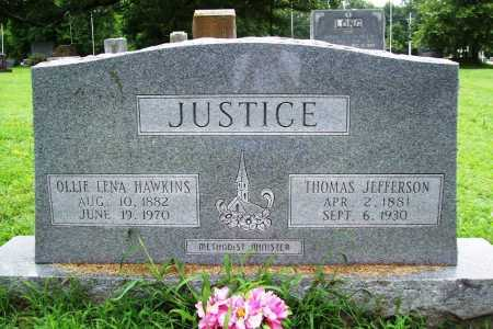 JUSTICE, THOMAS JEFFERSON - Benton County, Arkansas | THOMAS JEFFERSON JUSTICE - Arkansas Gravestone Photos