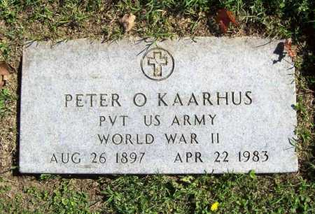 KAARHUS (VETERAN WWII), PETER O - Benton County, Arkansas | PETER O KAARHUS (VETERAN WWII) - Arkansas Gravestone Photos