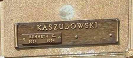 KASZUBOWSKI, KENNETH C. - Benton County, Arkansas | KENNETH C. KASZUBOWSKI - Arkansas Gravestone Photos