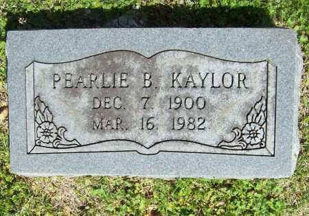 KAYLOR, PEARLIE B. - Benton County, Arkansas | PEARLIE B. KAYLOR - Arkansas Gravestone Photos