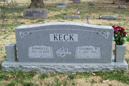 KECK, THOMAS R. - Benton County, Arkansas   THOMAS R. KECK - Arkansas Gravestone Photos