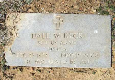 KECK (VETERAN KOR), DALE WHELCHEL - Benton County, Arkansas | DALE WHELCHEL KECK (VETERAN KOR) - Arkansas Gravestone Photos