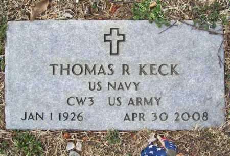 KECK (VETERAN), THOMAS R - Benton County, Arkansas | THOMAS R KECK (VETERAN) - Arkansas Gravestone Photos