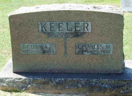 KEELER, CORA E. - Benton County, Arkansas | CORA E. KEELER - Arkansas Gravestone Photos