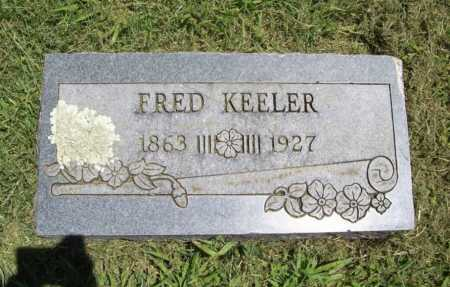 KEELER, FRED - Benton County, Arkansas | FRED KEELER - Arkansas Gravestone Photos