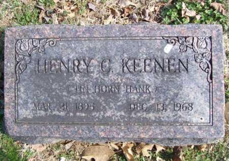 KEENEN, HENRY C. - Benton County, Arkansas | HENRY C. KEENEN - Arkansas Gravestone Photos
