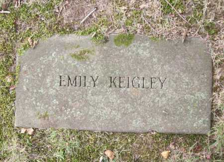 KEIGLEY, EMILY - Benton County, Arkansas | EMILY KEIGLEY - Arkansas Gravestone Photos