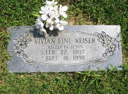 KEISER, VIVIAN - Benton County, Arkansas | VIVIAN KEISER - Arkansas Gravestone Photos