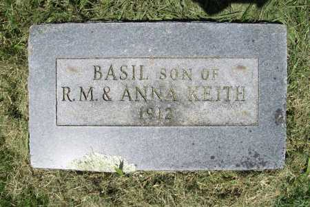 KEITH, BASIL - Benton County, Arkansas | BASIL KEITH - Arkansas Gravestone Photos