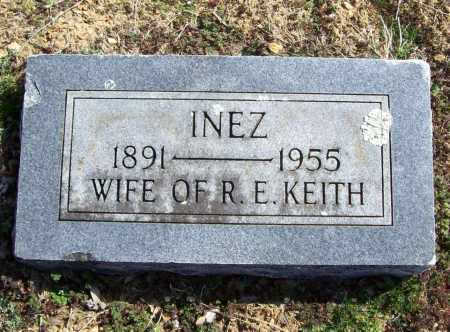 KEITH, INEZ - Benton County, Arkansas | INEZ KEITH - Arkansas Gravestone Photos
