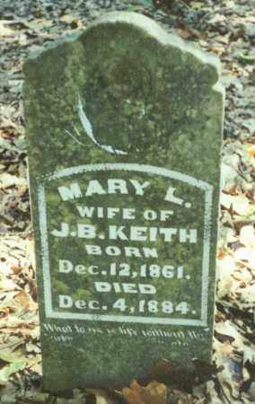 "KEITH, MARY L. ""ELLEN"" - Benton County, Arkansas 