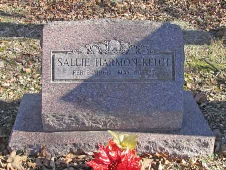 KEITH, SALLIE - Benton County, Arkansas | SALLIE KEITH - Arkansas Gravestone Photos