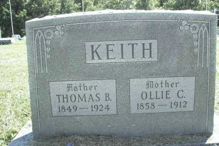 KEITH, THOMAS BIRD - Benton County, Arkansas | THOMAS BIRD KEITH - Arkansas Gravestone Photos