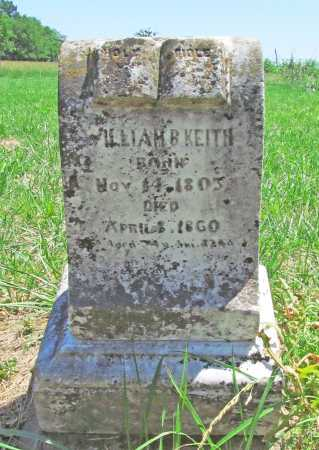KEITH, WILLIAM BIRD - Benton County, Arkansas | WILLIAM BIRD KEITH - Arkansas Gravestone Photos