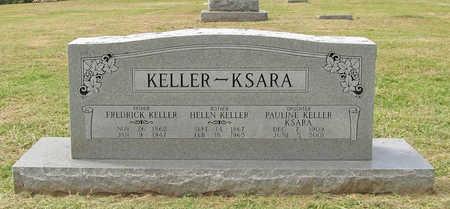 KELLER, FREDRICK - Benton County, Arkansas | FREDRICK KELLER - Arkansas Gravestone Photos