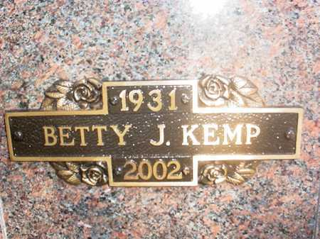 KEMP, BETTY JUNE - Benton County, Arkansas | BETTY JUNE KEMP - Arkansas Gravestone Photos
