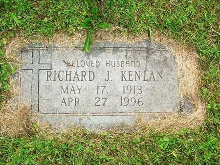 KENLAN, RICHARD J. - Benton County, Arkansas | RICHARD J. KENLAN - Arkansas Gravestone Photos