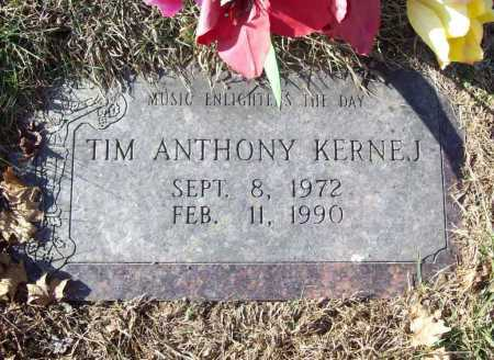 KERNEJ, TIM ANTHONY - Benton County, Arkansas | TIM ANTHONY KERNEJ - Arkansas Gravestone Photos