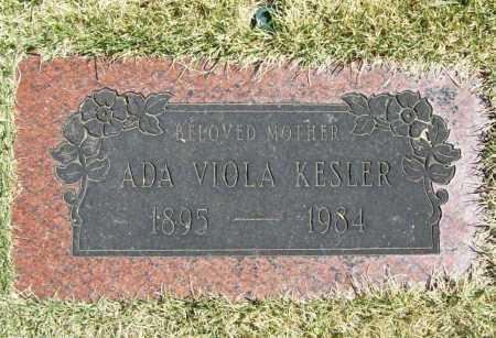 KESLER, ADA VIOLA - Benton County, Arkansas | ADA VIOLA KESLER - Arkansas Gravestone Photos