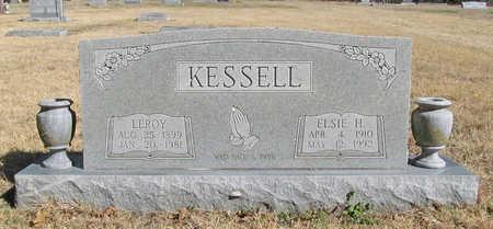 KESSELL, ELSIE H. - Benton County, Arkansas | ELSIE H. KESSELL - Arkansas Gravestone Photos