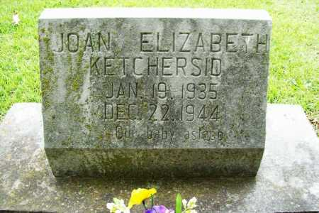 KETCHERSID, JOAN ELIZABETH - Benton County, Arkansas | JOAN ELIZABETH KETCHERSID - Arkansas Gravestone Photos