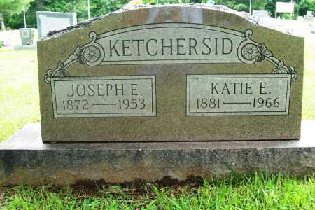KETCHERSID, KATIE E. - Benton County, Arkansas | KATIE E. KETCHERSID - Arkansas Gravestone Photos