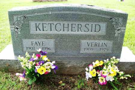 KETCHERSID, VERLIN J. - Benton County, Arkansas | VERLIN J. KETCHERSID - Arkansas Gravestone Photos