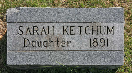 KETCHUM, SARAH - Benton County, Arkansas | SARAH KETCHUM - Arkansas Gravestone Photos