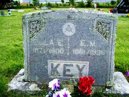 KEY, ELLA E. - Benton County, Arkansas | ELLA E. KEY - Arkansas Gravestone Photos