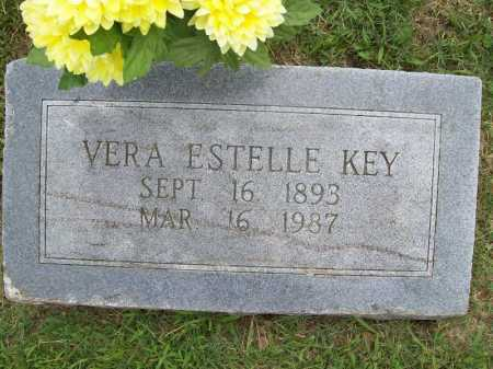 KEY, VERA ESTELLE - Benton County, Arkansas | VERA ESTELLE KEY - Arkansas Gravestone Photos