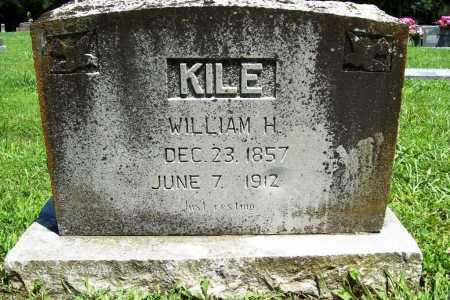KILE, WILLIAM H. - Benton County, Arkansas   WILLIAM H. KILE - Arkansas Gravestone Photos