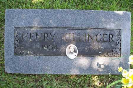 KILLINGER, HENRY - Benton County, Arkansas | HENRY KILLINGER - Arkansas Gravestone Photos