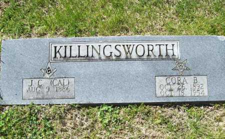 "KILLINGSWORTH, J. C. ""CAL"" - Benton County, Arkansas 