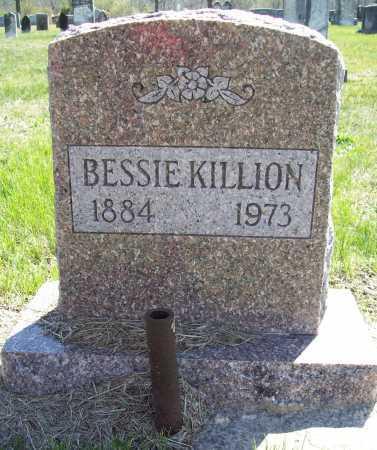 KILLION, BESSIE - Benton County, Arkansas | BESSIE KILLION - Arkansas Gravestone Photos