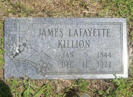 KILLION, JAMES LAFAYETTE - Benton County, Arkansas | JAMES LAFAYETTE KILLION - Arkansas Gravestone Photos