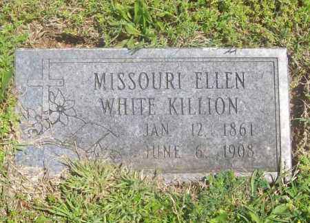 WHITE KILLION, MISSOURI ELLEN - Benton County, Arkansas | MISSOURI ELLEN WHITE KILLION - Arkansas Gravestone Photos