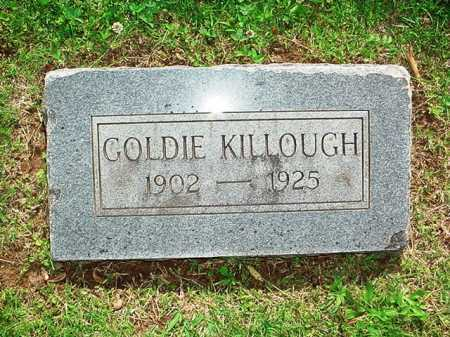 KILLOUGH, GOLDIE - Benton County, Arkansas | GOLDIE KILLOUGH - Arkansas Gravestone Photos