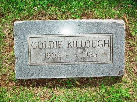 KILLOUGH, GOLDIE - Benton County, Arkansas | GOLDIE KILLOUGH - Arkansas Gravestone Photos