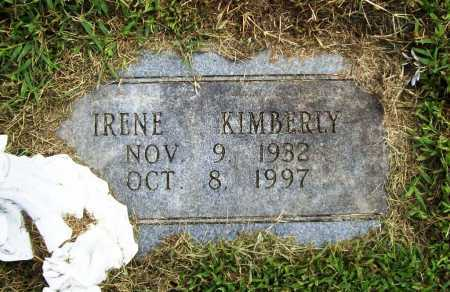 KIMBERLY, IRENE - Benton County, Arkansas | IRENE KIMBERLY - Arkansas Gravestone Photos