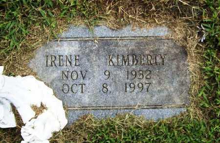 KIMBERLY, IRENE - Benton County, Arkansas | IRENE KIMBERLY - Arkansas Gravestone Photos