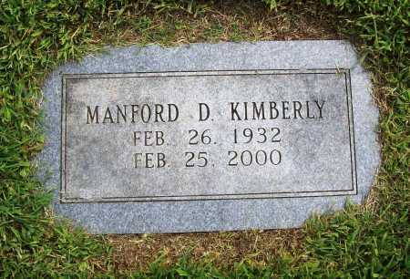 KIMBERLY, MANFORD D. - Benton County, Arkansas | MANFORD D. KIMBERLY - Arkansas Gravestone Photos