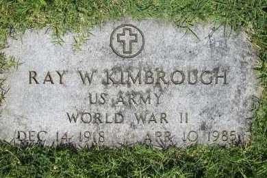 KIMBROUGH (VETERAN WWII), RAY W. - Benton County, Arkansas | RAY W. KIMBROUGH (VETERAN WWII) - Arkansas Gravestone Photos