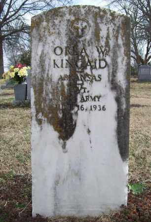 KINCAID (VETERAN WWI), ORLA W - Benton County, Arkansas | ORLA W KINCAID (VETERAN WWI) - Arkansas Gravestone Photos