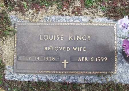 KINCY, LOUISE - Benton County, Arkansas | LOUISE KINCY - Arkansas Gravestone Photos