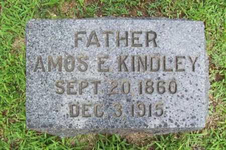 KINDLEY, AMOS E - Benton County, Arkansas | AMOS E KINDLEY - Arkansas Gravestone Photos