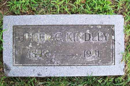 KINDLEY, UTHER C. - Benton County, Arkansas | UTHER C. KINDLEY - Arkansas Gravestone Photos