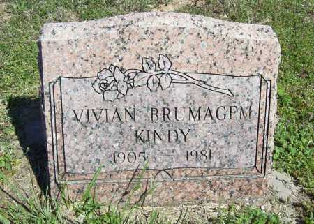KINDY, VIVIAN - Benton County, Arkansas | VIVIAN KINDY - Arkansas Gravestone Photos